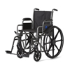 "Rehabilitation: Medline - K1 Basic 18"" Wheelchair w/Removable Desk Length Arms (MDS806250EE)"