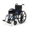 Medline Hybrid 2 Transport Wheelchair MED MDS806250NH2