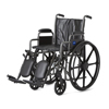 Medline K2 Basic Vinyl Wheelchairs, 1/EA MED MDS806300EV