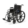 Medline K2 Basic Vinyl Wheelchairs, 24 IN MED MDS806400EV