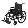 Medline Wheelchair, K4, 20, Ht Adj Desk-Length Arms, Footrest, Anti MED MDS806560PLUS