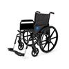 Medline Wheelchair, 18, Full-Length Arms, Swing-Away Footrest MED MDS806600FLA