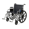 "Wheelchairs: Medline - Excel Extra-Wide 22"" Wheelchair (MDS806800)"