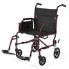 Medline Basic Transport Chair, Steel, 1/EA MED MDS808200KD