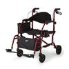 Medline Combination Rollator/Transport Chair MED MDS808200TRR