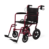 Medline Aluminum Transport Chair with 12
