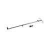 Medline Telescoping IV Pole for Excel Extra-Wide Wheelchair MEDMDS85183