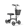 Medline Generation 4 Basic 4-Wheeled Knee Walker, Black, 1 EA/CS MED MDS86000G4