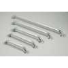 Medline Chrome Grab Bars, 3 EA/CS MEDMDS86024CHR