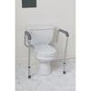 Rehabilitation: Medline - Commode Safety Rails Bracket Only