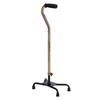 Medline Cane, Quad, Large Base, Bronze MEDMDS86228BRZ