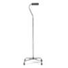 Medline Aluminum Quad Canes, Chrome, 2 EA/CS MEDMDS86228CHR