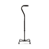Medline Bariatric Quad Canes, Black, 1 EA/CS MEDMDS86228XW