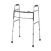 Medline Two-Button Folding Walkers without Wheels MED MDS864104