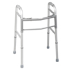 Medline Youth Two-Button Folding Walkers without Wheels, 4EA/CS MED MDS86410J4
