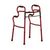 Medline Adult Stand-Assist Walkers, Red, Adult, 2 EA/CS MED MDS86410URR