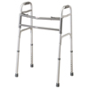 Walkers: Medline - Bariatric Two-Button Folding Walker