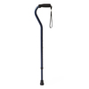 Medline Cane, Offset, Blue Ice, Aluminum, 29-38 MED MDS86420B