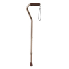 Medline Cane, Offset Handle, Bronze MED MDS86420BRZW