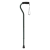 Medline Cane, Offset, Green Ice, Aluminum, 29-38 MED MDS86420G