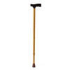 Medline Cane, Aluminum, Maple Color MED MDS86435W