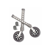 "IV Supplies Admin Sets: Medline - Walker 5"" Swivel Casters"