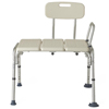 Medline Transfer Bench with Back, 1/EA MED MDS86952H