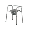 Medline Steel Commode with Microban MED MDS89664KD