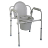 Medline Replacement Seat And Lid for Commode MED MDS89664SLH