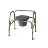Medline Extra Wide Steel Bariatric Commode MED MDS89664XW