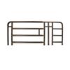 Medline 4-Bar Spring-Loaded Adjustable Full-Length Bed Rails MED MDS89694N