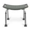 Medline Aluminum Bath Benches without Back MED MDS89740RW