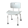 Medline Aluminum Bath Benches with Back MED MDS89745A