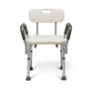 Medline Knockdown Bath Bench with Arms, White, 1/EA MED MDS89745RAH