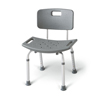 bathroom aids: Medline - Aluminum Bath Benches with Back