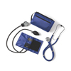 Medline Aneroid Sphygmomanometers, Latex-Free, with Dual Head Steth, Royal Blue MED MDS9124