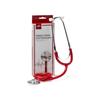 Medline Single-Head Stethoscope, Red MED MDS926106