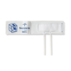 Medline Vinyl Double-Tube Neonatal BP Cuffs with Luer Connector, Neonatal Size 4, 10 EA/BX MED MDS9754V