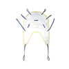 Medline Sling, Disposable, with Head Support, 600 Lb, Small MED MDSDHS1