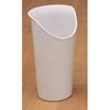 Medline Nosey Cup, 8 oz, Sandstone MED MDSF1120S