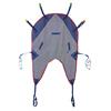 Medline Reusable U-Shaped Patient Sling with Head Support, Mesh, 450 lb., Size L, 1/EA MED MDSMMHS3