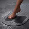 Medline Momentum Bath Mat, Grey, 29.5 x 16.8, 1/EA MED MDSMOMMATGH
