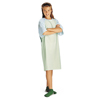 Medline Comfort-Knit Adolescent Patient Gowns- Mint MED MDT011369