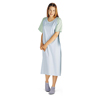 Medline Comfort-Knit Adolescent Patient Gowns- Blue MEDMDT011370