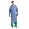 Medline Single-Ply Blockade AngelStat Surgical Gowns, Blue, Large MED MDT012090L