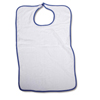 Medline Clothing Protectors with Hook-and-Loop Closure, White MED MDT014101Z