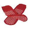 Medline Slipper, Double-Tread Red One-Size-Fits-Most 48 Pair Cs MED MDT211218R