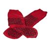 Medline Slipper, Double-Tread Red XL 48 Pr Cs MED MDT211218RXL