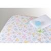 Medline 100% Cotton Woven Crib Sheet, Print, 24