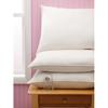 """Linens & Bedding: Medline - Velvet Soft Pillows, White, 20"""" x 26"""""""